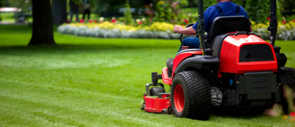 Mowing Lawn Areas